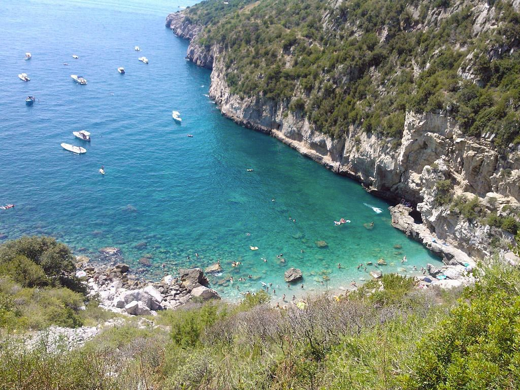Mitigliano Bay - Sorrento COast - Sorrento Beach - Best beach in Naples - Italy - Massa Lubrense
